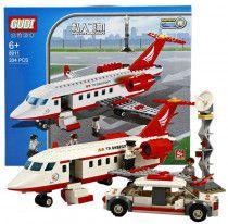 Gudi Large lego brick plane 334 Block pieces for sale in Ajman