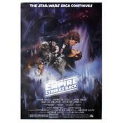 Star wars the empire strikes back movie poster, size 26 x 32 inches for sale
