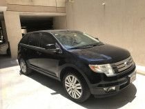 Ford edge for sale in Dubai 2009 model blue color fully automatic