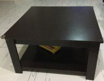Coffee Table 90CM * 90 CM with 2 plastic chair & cushions for sale in Dubai