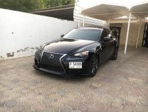2014 Black Lexus IS F Sport Platinum Edition with Extras & in Perfect Condition