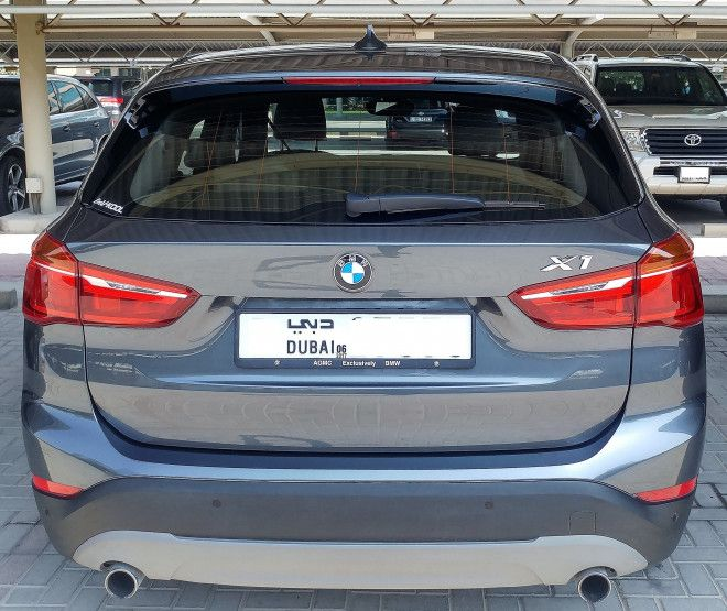 Grey 2016 BMW X1 Available for sale in Dubai