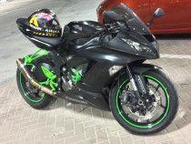 2016 Kawasaki ninja for sale. custom painted accessories