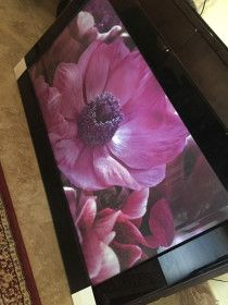 Beautiful wall hanging/painting made of glass