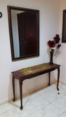 Consol table with nice mirror for cheap price