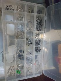 Fishing Tool Box... Including Sinkers, Sabiki, hooks.... and MORE