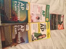 AP Study Guides For Sale - AED 50 per Book