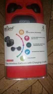 Wipod german deigned, wireless headsets.