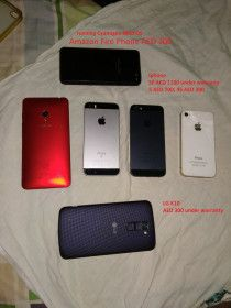 LG, Apple, Amazon, Asus Mobile Phone for sale