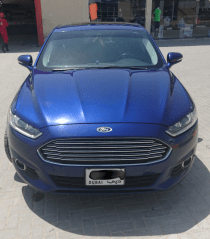 Ford fusion SE, blue. 2014 model, 94,000 km, Free agency service upto 100,000 km