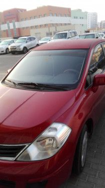 Single Owner car for Sale in Abu dhabi Nissan Tiida in Good Condition
