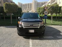 Excellent 38,000 Km Ford Explorer XLT 2013 GCC Warranty and Service  Contract
