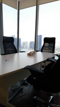 Conference Table with Chairs for only AED 1,499