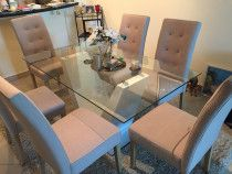 Moving out sale brand new table and 6 chairs excellent quality