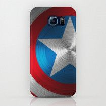 Captain America's shield Samsung S6 edge case