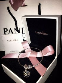 Authentic Pandora Bracelets 18cm with Family Trees Charm