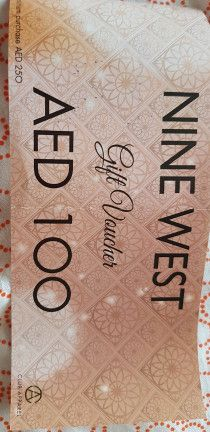 Unwanted Nine west Voucher for Women's bags and shoeses
