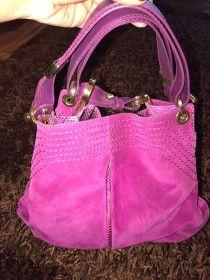 Designer Womens Handbag Jimmy choo purple