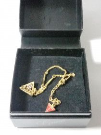 Guess Womens Gold Plated Bracelet - For Sale
