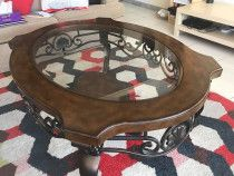 Coffee Table - From Home Centre Itasca Oval