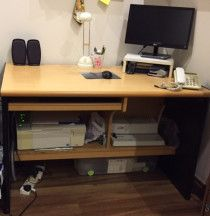 Computer Desk,IKEA Table and chair,Laptop table for low prices for sale in Dubai