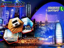 EID SPECIAL TOUR SERVICES VIP in Dubai Dhow Cruise Dinner & Desert Safari