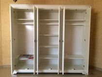Grandview Five-plus Door Wardrobe. Height (cm) : 230 Length (cm) : 258 Wood Type