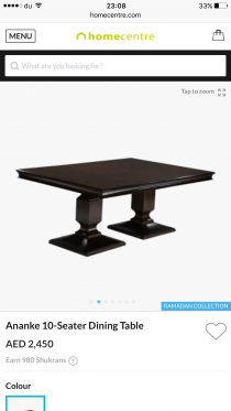 Brand new never used dining table,extendable.