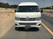 Toyota Hiace 2013 High Roof Bus For Passengers Transport