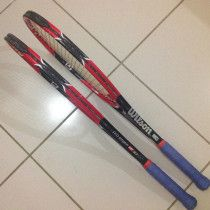 Wilson RF97 Autograph tennis racquets for sale 1650aed for 2 racquets, 340grams.
