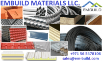 Building Materials / Metal Construction Materials Supplier in Dubai