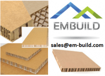 Paper / Card Board  Honeycomb sheets for use as door cavity filler, Packaging,