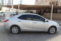 Toyota Corolla 2015 LE Silver Color American