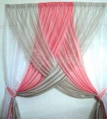 Curtain, fabric, plastic aluminum and blinds
