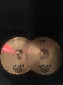"SABIAN AAX Stage Hats  14""/ 35cm  brand new used just for few time fix price."