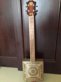 Rare hand made customized cigar box Guitar
