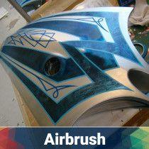 Vehicle Air Brush Painting and Art Work in Dubai