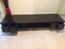 2 TV tables 1 Ikea table and 1 Handmade custom designed very strong n heavy