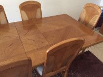 Beautiful Dining set and a hutch for sale