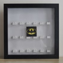 Lego Minifigures Display Case 16 to 18 figures - Custom Batman - new