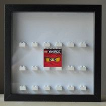 Lego Minifigures Display Case 16 to 18 figures - Custom Ninjago - new!