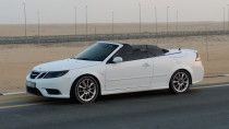 SAAB 9-3 AERO V6 Convertible in a perfect condition