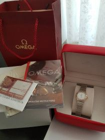 New Omega Constellation Ladies Watch Brand New