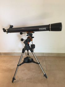 ASTROMASTER 90EQ TELESCOPE - only used once