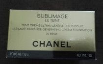 Chanel foundation Sublimage Le Teint 20 Beige