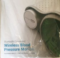 iPhone. Wireless blood pressure machine