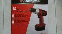 Cordless Drill Machine with two battery for sale