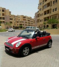 Mini cooper for sale woman use top convertable