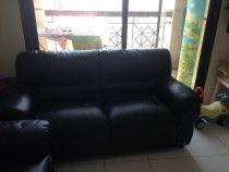 Cannes 5-Seater Sofa Black color from Homes R URS