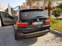 BMW X5 3L 2008 black color leather seats for sale in Abu Dhabi